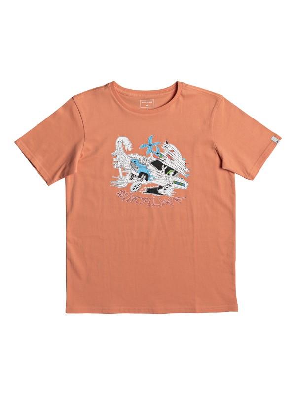 0 Classic Days On - T-Shirt for Boys 8-16 Orange EQBZT03672 Quiksilver