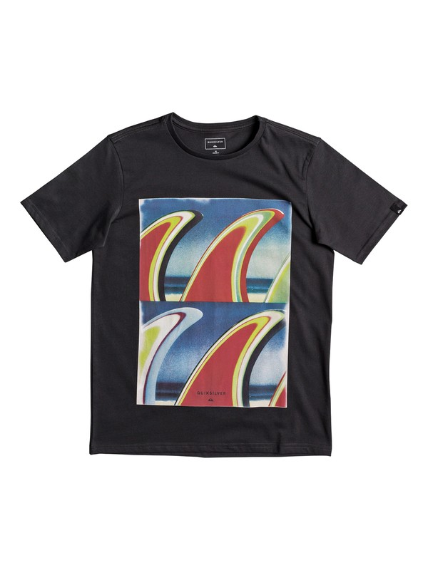 0 Classic Fin Fanatic - T-Shirt for Boys 8-16 Black EQBZT03673 Quiksilver