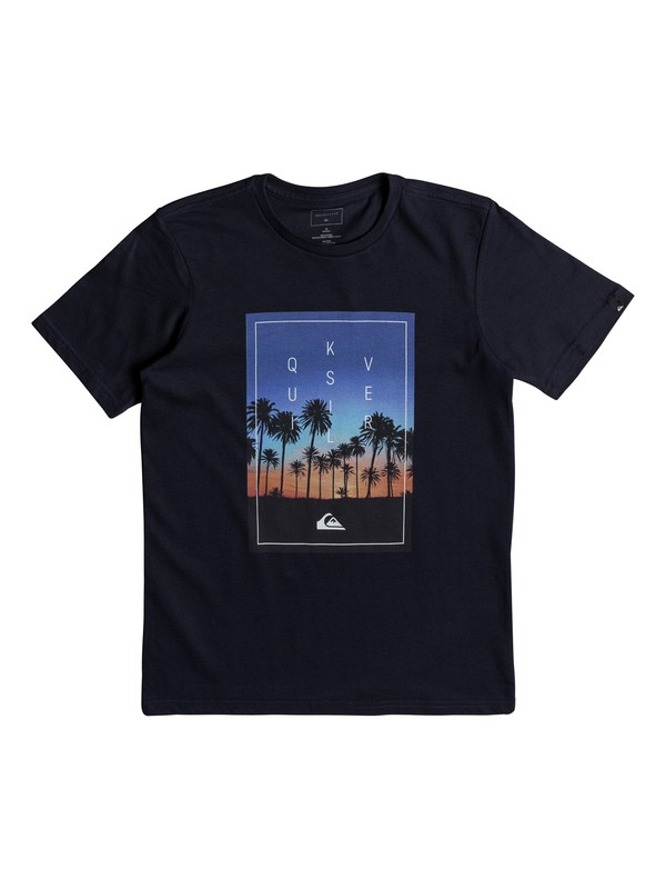 0 Classic Salina Stars - T Shirt col rond pour Garçon 8-16 ans  EQBZT03677 Quiksilver