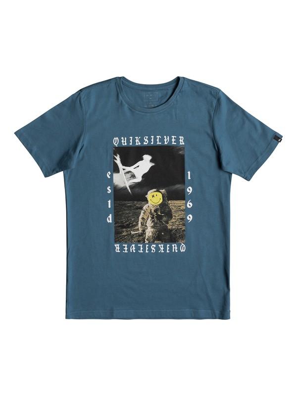 0 Classic Kelalani Nalu - T-Shirt for Boys 8-16 Blue EQBZT03678 Quiksilver