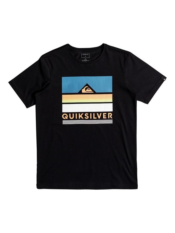 0 Classic Loud Places - T Shirt col rond pour Garçon 8-16 ans Noir EQBZT03681 Quiksilver