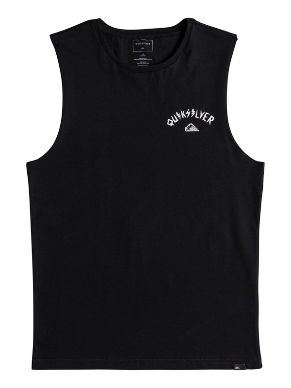0 Muscle Walls Of Death - T Shirt col rond pour Garçon 8-16 ans  EQBZT03688 Quiksilver