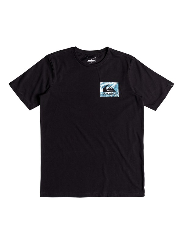 0 Boys 8 -16 Volcano Blues Technical Tee  EQBZT03698 Quiksilver