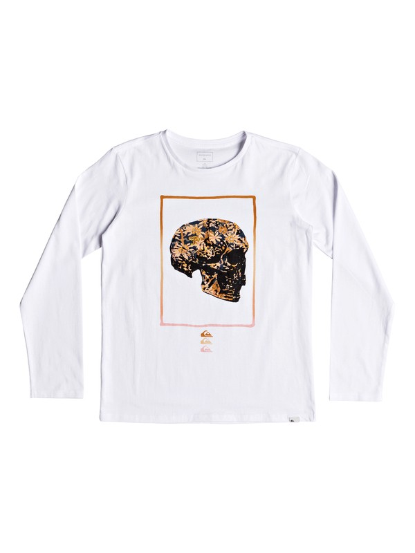 0 The Face - Camiseta de manga larga para Chicos 8-16 Blanco EQBZT03805 Quiksilver