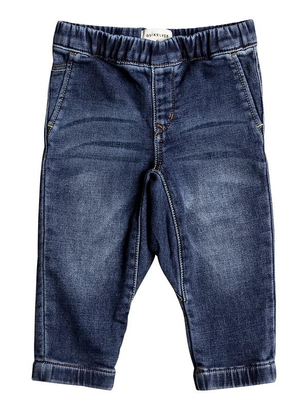 0 Fonic Hash Blue - Pantalon de jogging en denim coupe slim Bleu EQIDP03010 Quiksilver