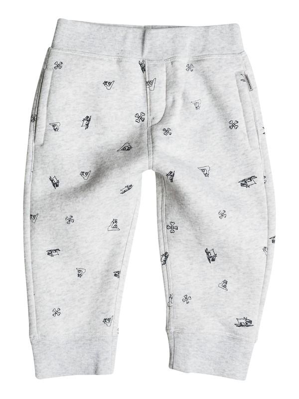 0 Ghetto Tribe - Pantalon en Molleton  EQIFB03010 Quiksilver