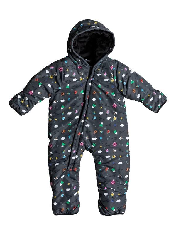 0 Mr Men - Schneeanzug für Babys Schwarz EQITS03003 Quiksilver