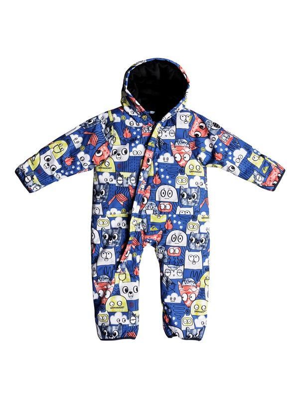 0 Little Rookie - Snowsuit Blue EQITS03004 Quiksilver