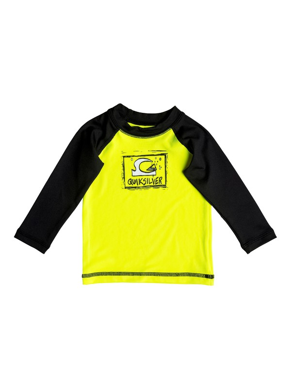 0 Bubble Dream - Long Sleeve Rash Vest  EQIWR03007 Quiksilver