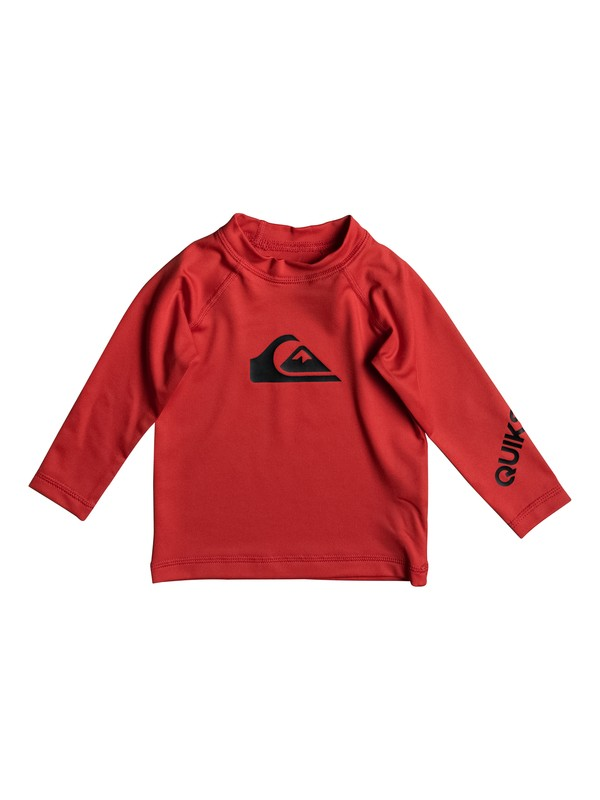 0 All Time - Lycra manches longues UPF50 Rouge EQIWR03009 Quiksilver