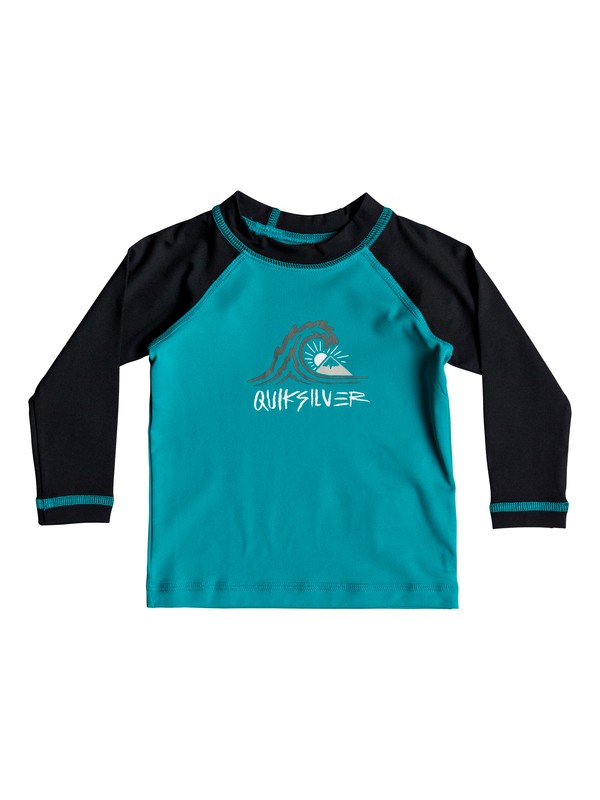 0 Baby Boy Bubble Dream Long Sleeve UPF 50 Rash Guard Blue EQIWR03020 Quiksilver