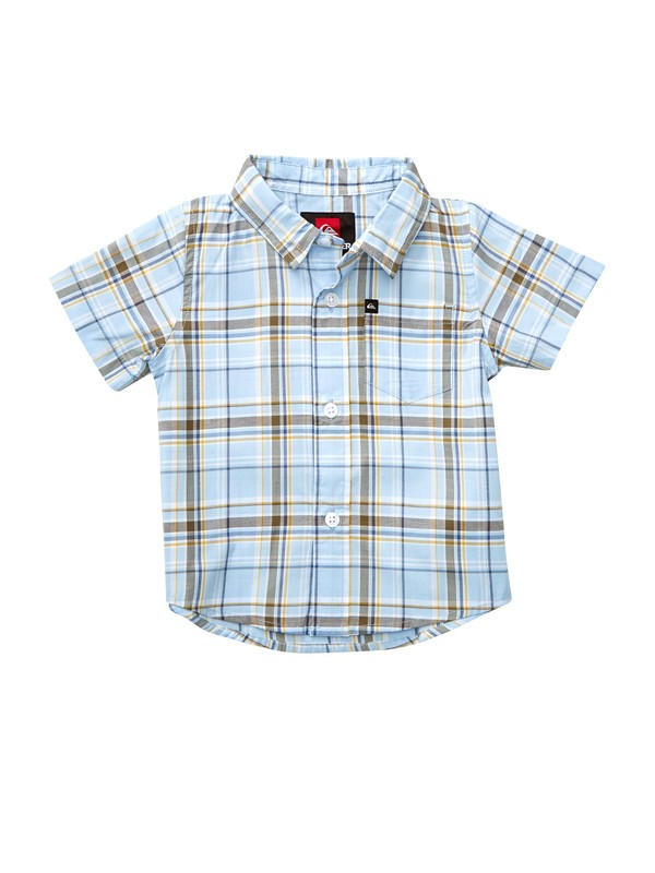 0 Baby Engineer Pat Short Sleeve Shirt  EQIWT00001 Quiksilver