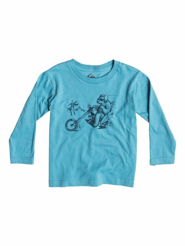 0 Organic Bear Chopper - T-shirt manches longues  EQIZT03008 Quiksilver