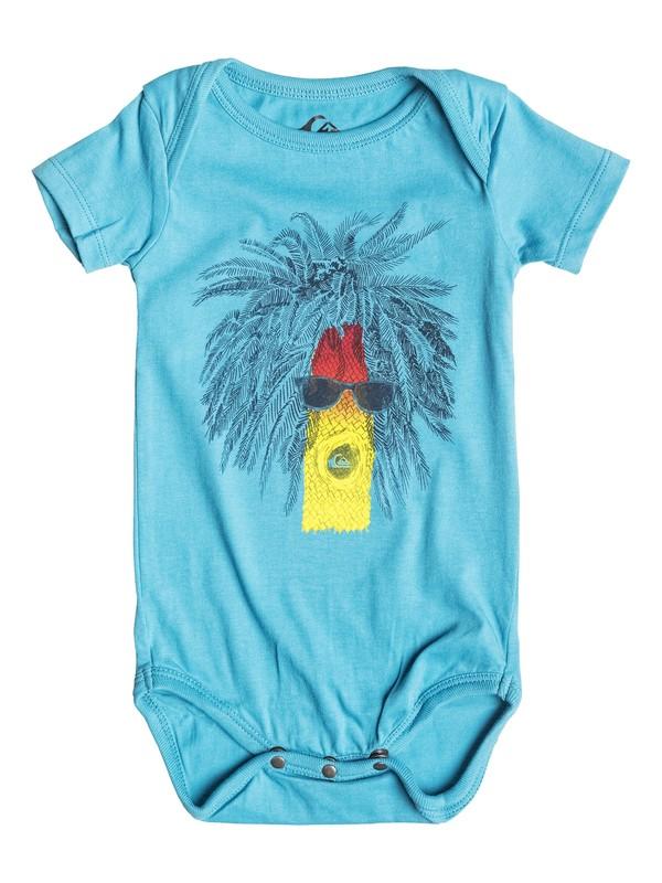 0 Body Rasta Palm - T-shirt  EQIZT03015 Quiksilver