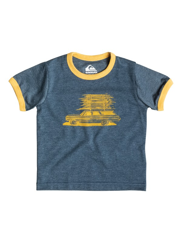 0 Heather Board Wagon - T-shirt  EQIZT03016 Quiksilver