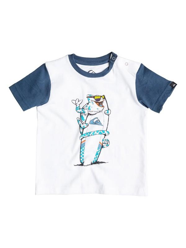 0 Colorblock Cameo - T-shirt  EQIZT03017 Quiksilver