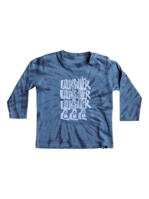 0 Tri Band - Longsleeve für Babys Blau EQIZT03028 Quiksilver