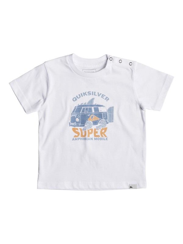 0 Classic Amphibian - T Shirt col rond pour Bebés Blanc EQIZT03033 Quiksilver
