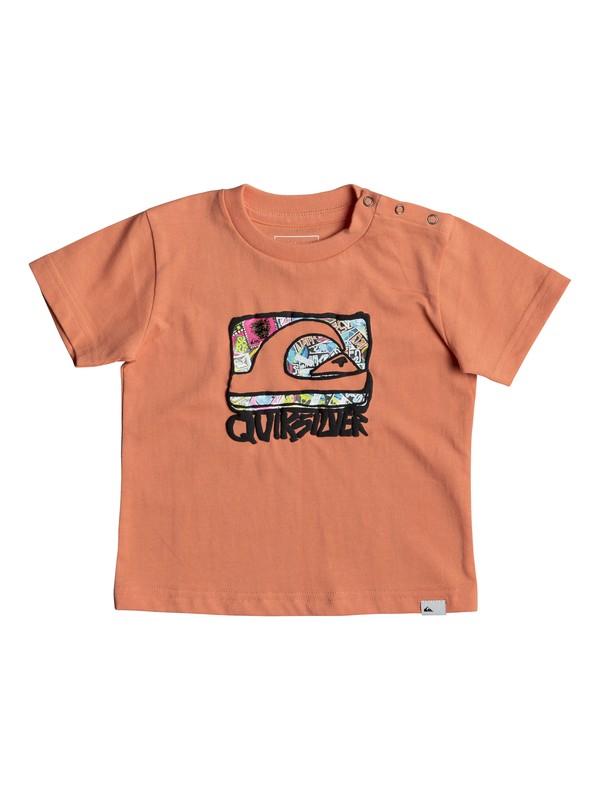 0 Classic Wemi - T Shirt col rond pour Bebés  EQIZT03034 Quiksilver