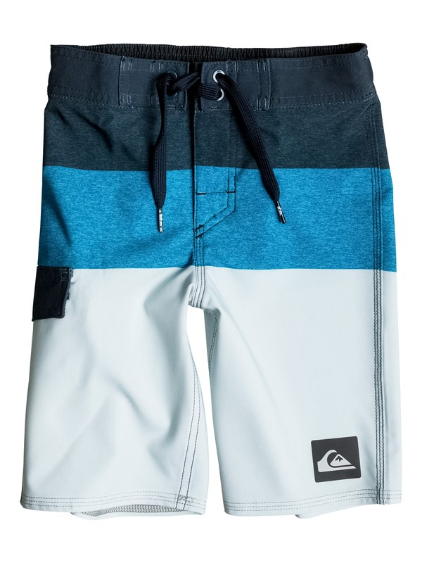 "0 Niños 2-7 Boardshorts de 14""  Everyday Blocked  EQKBS03056 Quiksilver"