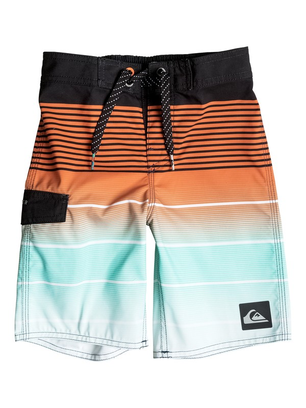 "0 Boy's 2-7 Division Magic 14"" Boardshorts  EQKBS03058 Quiksilver"