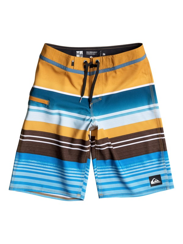"0 Boy's 2-7 Everyday Stripe 14"" Boardshorts  EQKBS03105 Quiksilver"