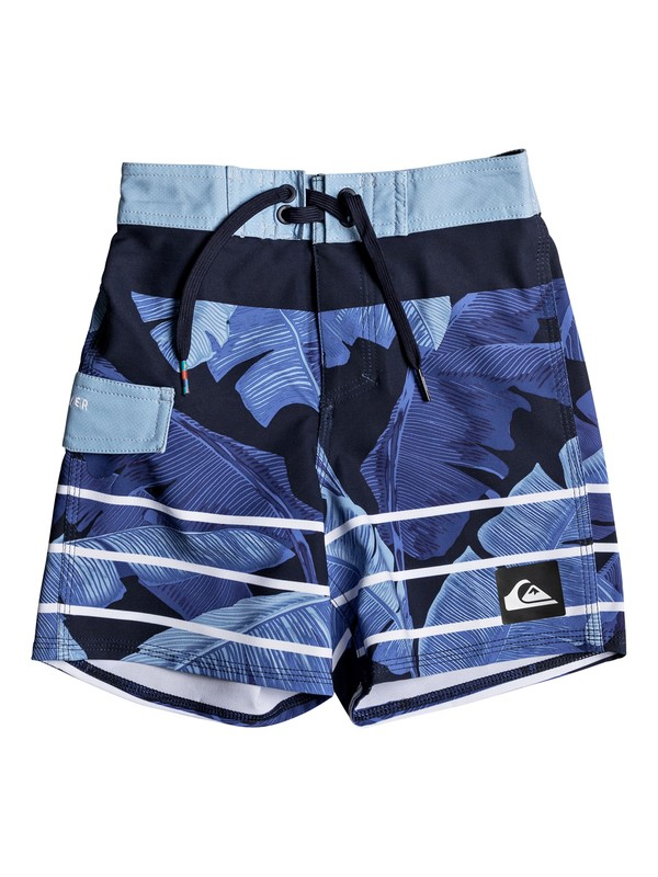 "0 Highline Island Time 12"" - Boardshorts Azul EQKBS03148 Quiksilver"