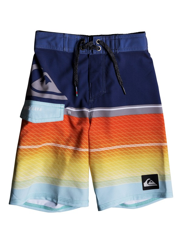 "0 Highline Slab 14"" - Boardshorts Blue EQKBS03152 Quiksilver"