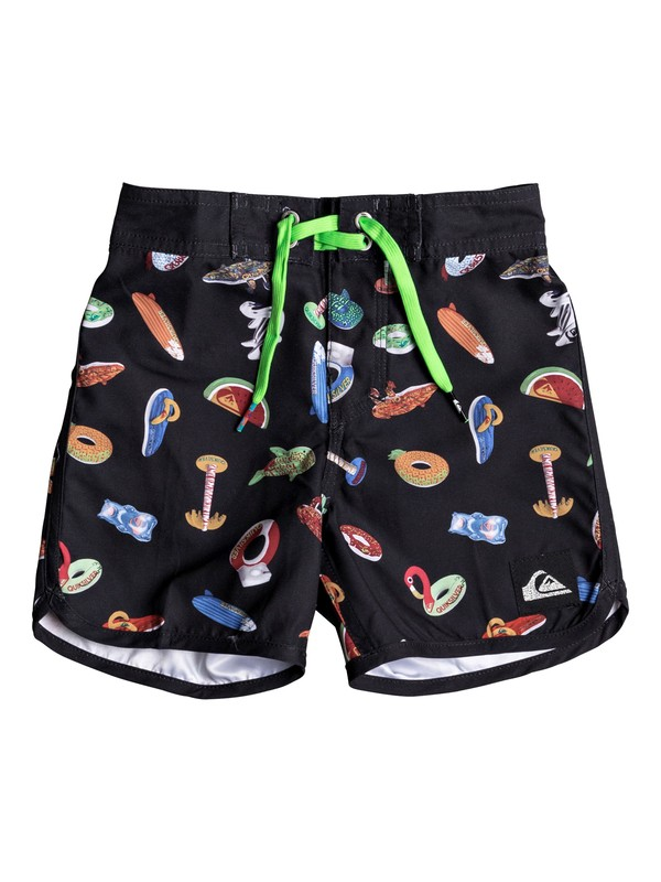 "0 Floater 11"" - Board Shorts for Boys 2-7 Black EQKBS03157 Quiksilver"