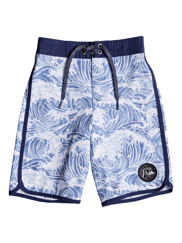 "0 Boy's 2-7 Highline Legend 14"" Boardshorts Blue EQKBS03187 Quiksilver"
