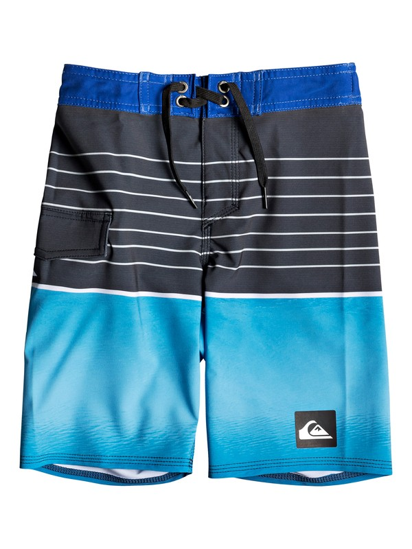 "0 Boy's 2-7 Highline Slab 14"" Boardshorts Purple EQKBS03200 Quiksilver"