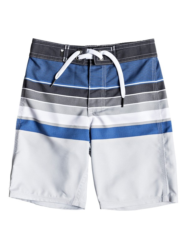 "0 Boy's 2-7 Everyday Sion 14"" Boardshorts Purple EQKBS03209 Quiksilver"