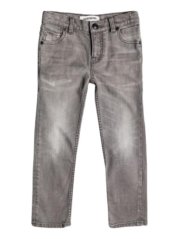 0 Zeppelin Light Grey - Jean skinny  EQKDP03038 Quiksilver