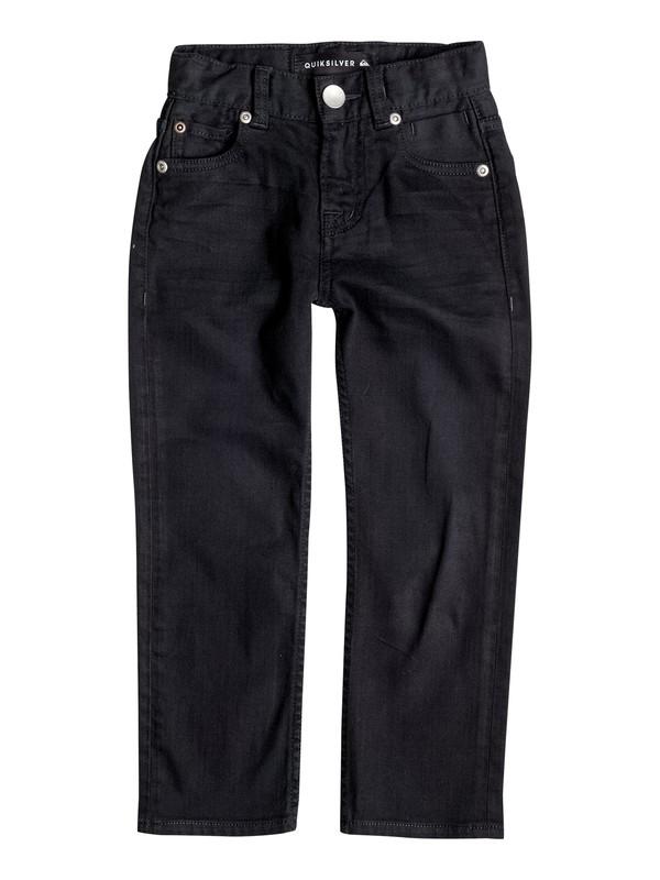 0 Boy's 2-7 Distorsion Colors Slim Fit Jeans  EQKDP03044 Quiksilver