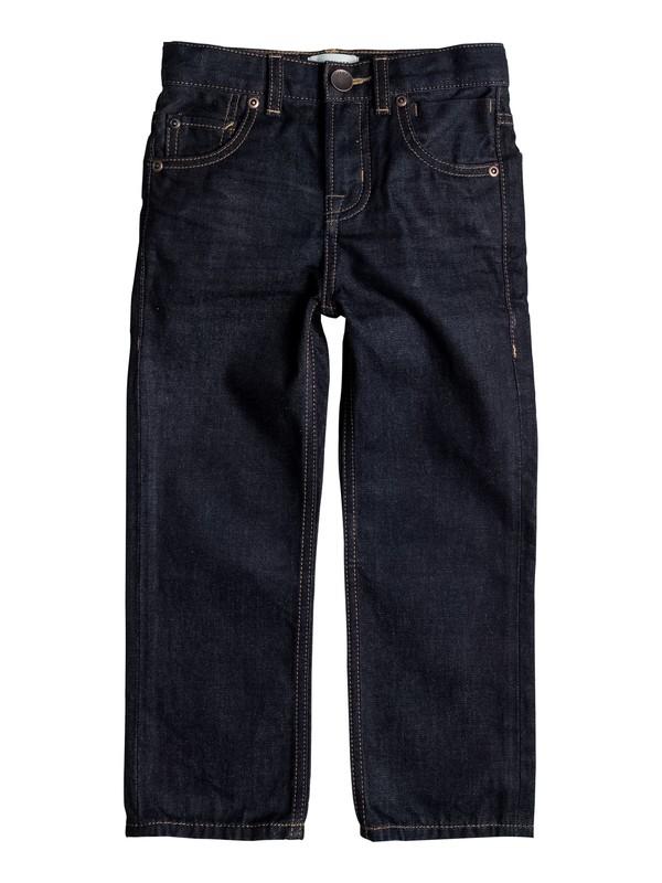 0 Boy's 2-7 Sequel Rinse Regular Fit Jeans  EQKDP03051 Quiksilver