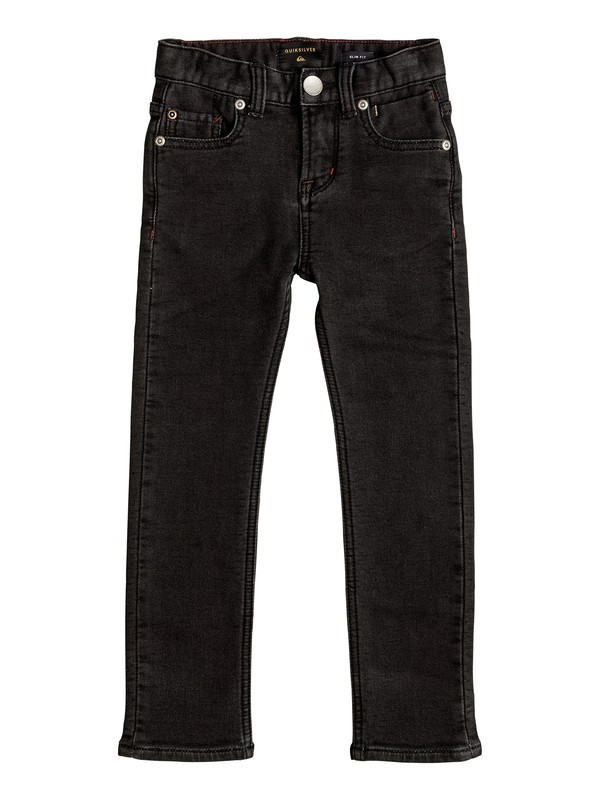 0 Distorsion Fleece Grey - Jean coupe slim  EQKDP03062 Quiksilver