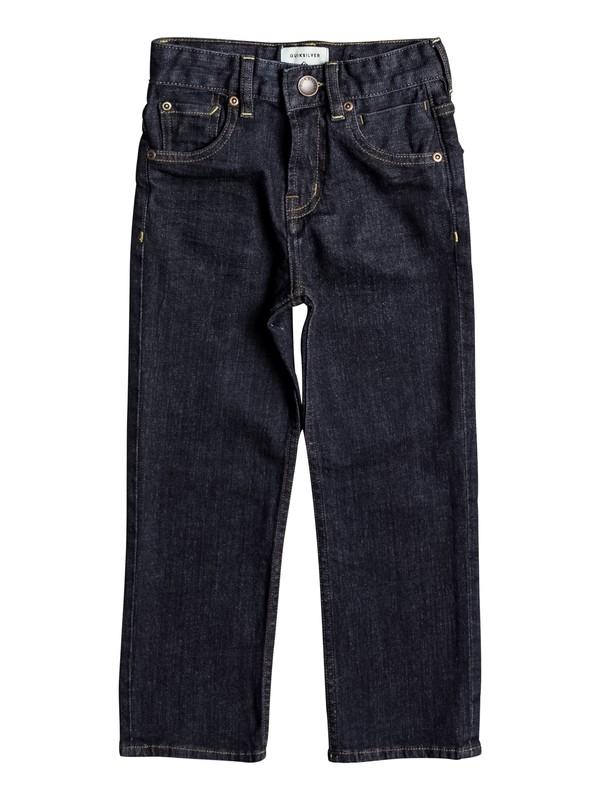 0 Boy's 2-7 Sequel Rinse Regular Fit Jeans  EQKDP03066 Quiksilver