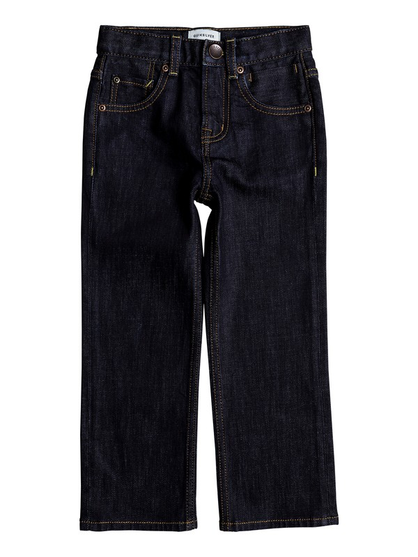 0 Boy's 2-7 Sequel Regular Fit Jeans Blue EQKDP03071 Quiksilver