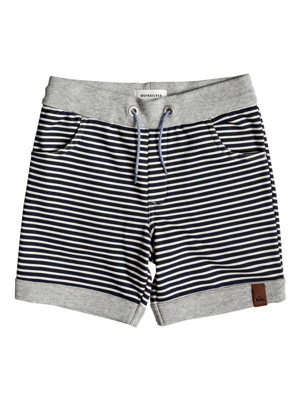 0 Boy's 2-7 Big 2 Do Sweat Shorts Grey EQKFB03075 Quiksilver