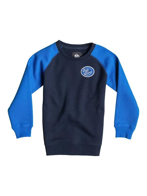 0 Active Crew Block - Sweatshirt  EQKFT03092 Quiksilver