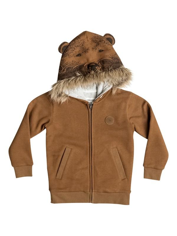 0 Bear - Sweat a capuche zippé  EQKFT03143 Quiksilver