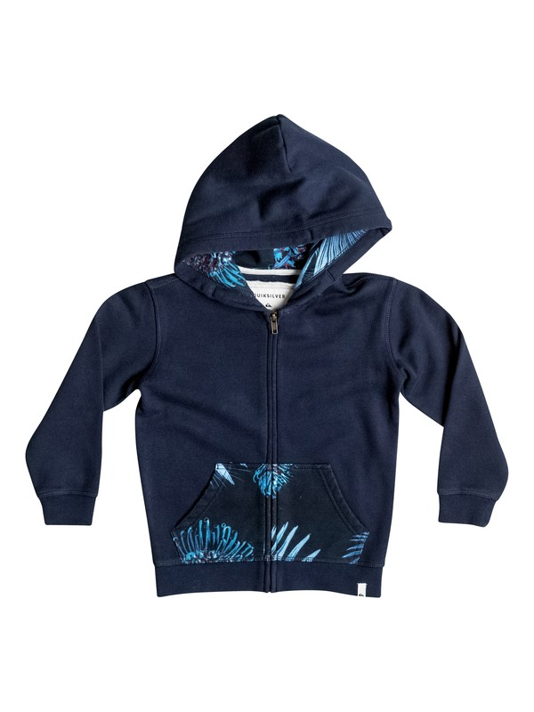 0 Boy's 2-7 Decided Fate Zip-Up Hoodie  EQKFT03158 Quiksilver