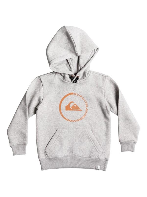 0 Boy's 2-7 Big Logo Hoodie  EQKFT03161 Quiksilver
