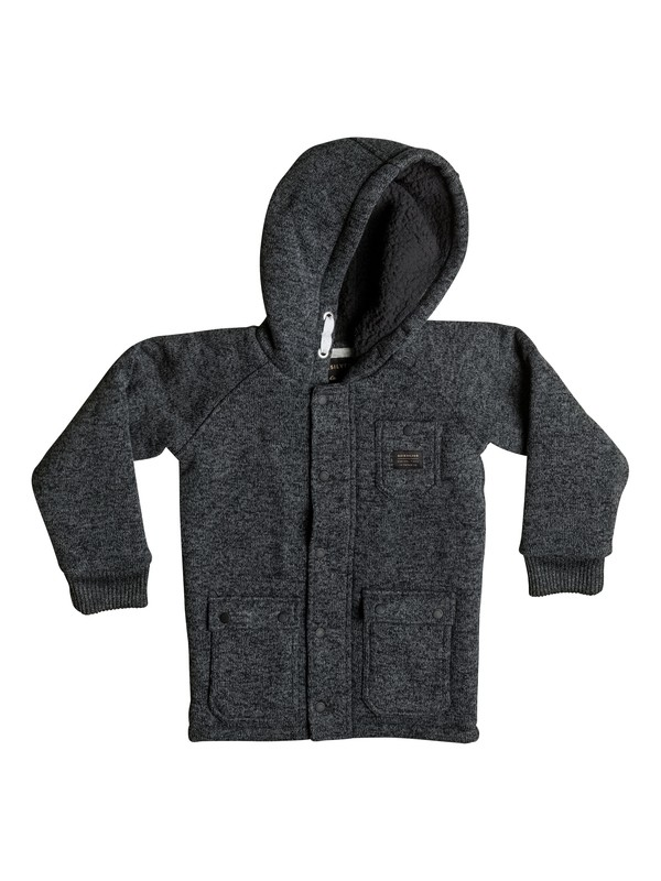 0 Boy's 2-7 Frozen Over Zip-Up Hoodie  EQKFT03165 Quiksilver
