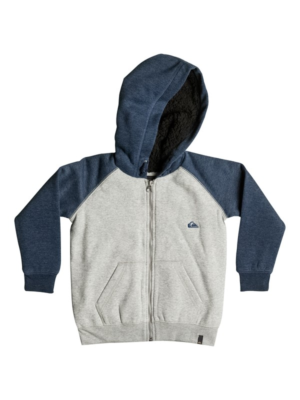0 Boy's 2-7 Block Outback Sherpa Zip-Up Hoodie  EQKFT03170 Quiksilver