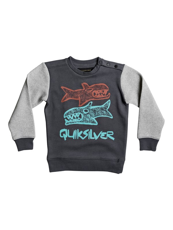 0 Double Sharks - Sweat pour Garçon 2-7 ans  EQKFT03216 Quiksilver