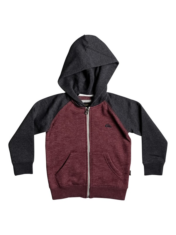 0 Boy's 2-7 Everyday Zip-Up Hoodie  EQKFT03224 Quiksilver