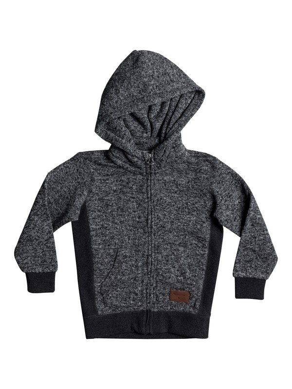 0 Boy's 2-7 Keller Zip-Up Hoodie Black EQKFT03225 Quiksilver