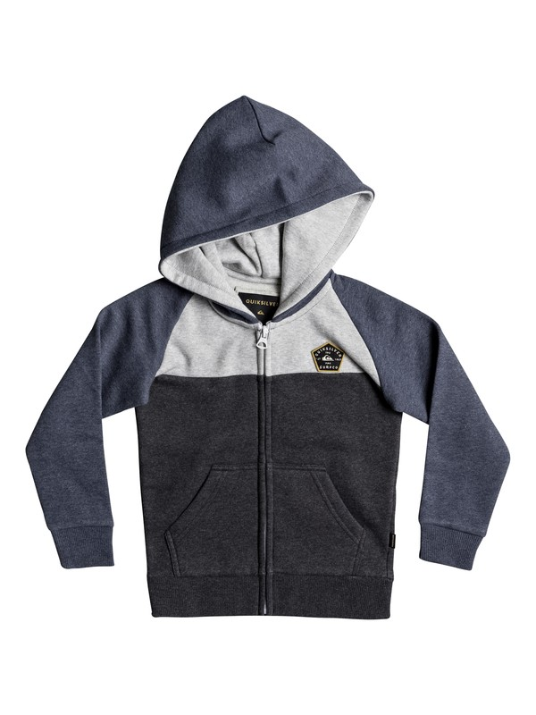 0 Boys 2 - 7 Sun Melt Zip-Up Hoodie  EQKFT03241 Quiksilver