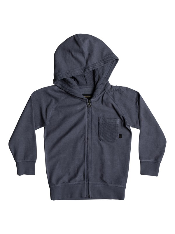 0 Boys 2 - 7 Baao Zip-Up Hoodie Blue EQKFT03248 Quiksilver